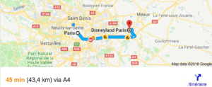 Transfer Paris Disneyland with driver