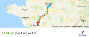 Transfer Paris Poitiers With Driver