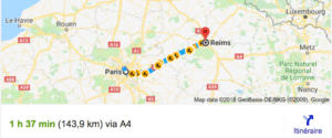 Transfer Paris Reims With Driver