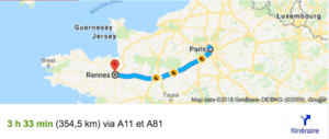 Transfer Paris Rennes With Driver