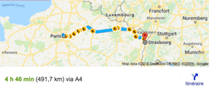 Transfer Paris Strasbourg With Driver