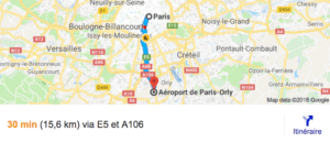 transfer orly airport paris