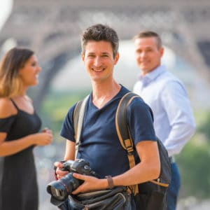 Paris Tour with Photographer and Driver